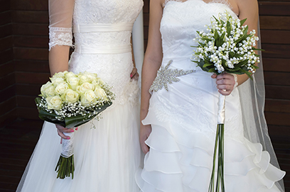 7 year marriage contract, lesbian wedding